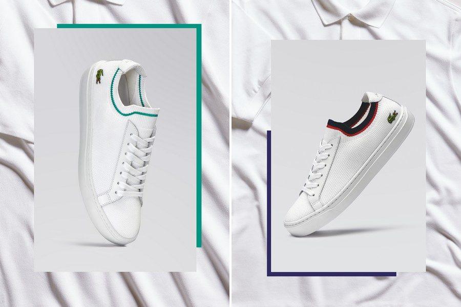 Sneaker Au Lance Qui Rend Hommage Lacoste La PiquéeUne Nouvelle OP8n0yNmwv