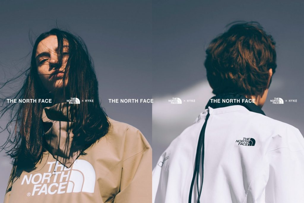 Collection The North Face x HYKE Printemps/Été 2019