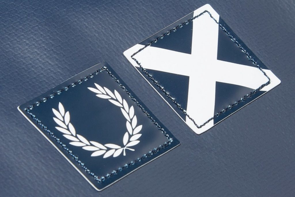 Fred Perry x Luggage Label