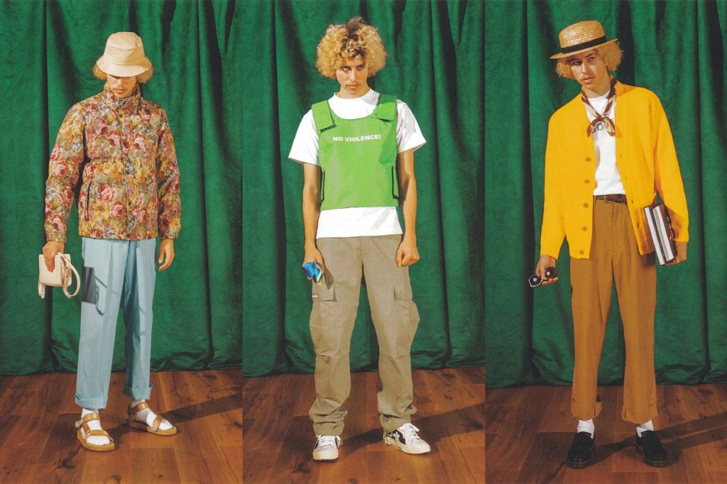 Lookbook collection GOLF WANG Hiver 2018/2019