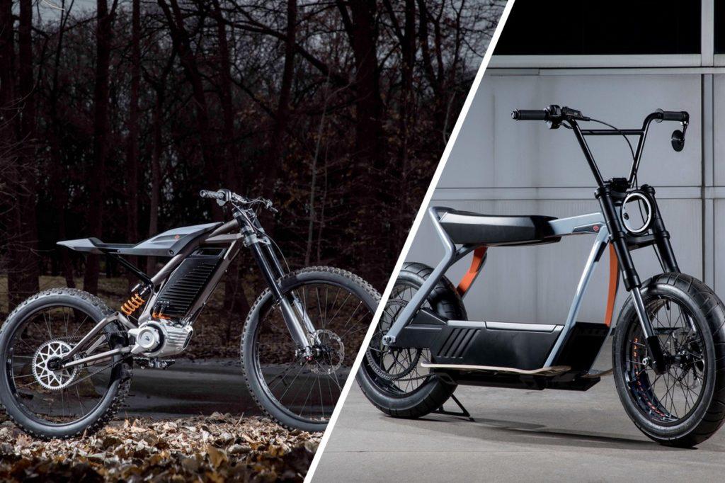 Harley-Davidson présente deux concepts électriques révolutionnaires