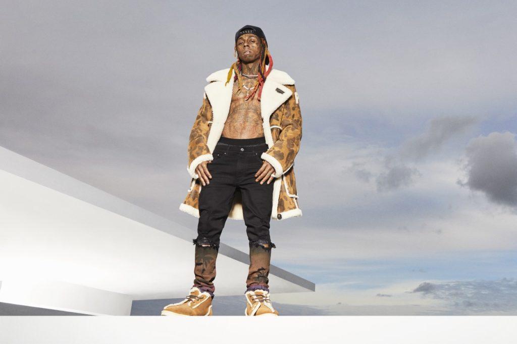 Campagne UGG x BAPE mettant en vedette Lil Wayne