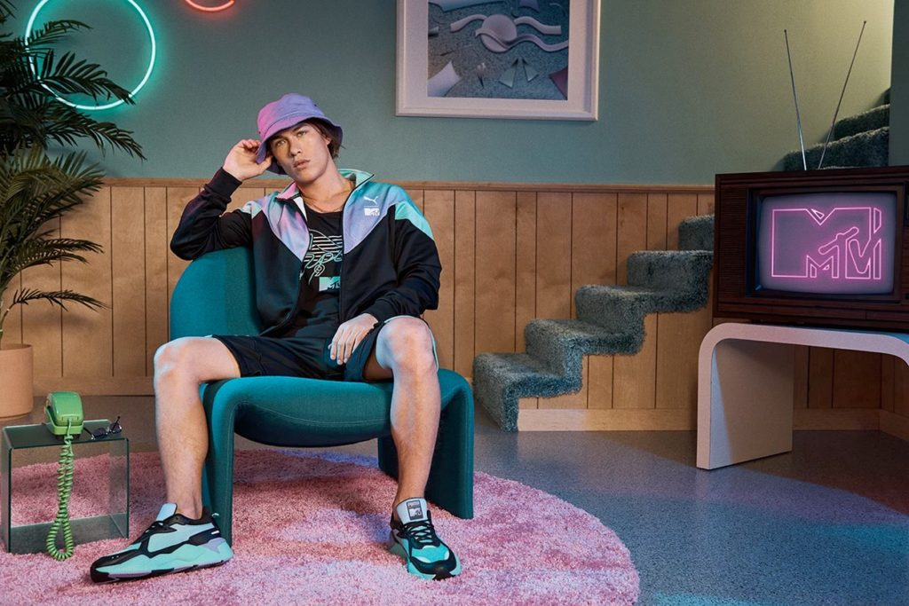 Collection capsule PUMA x MTV