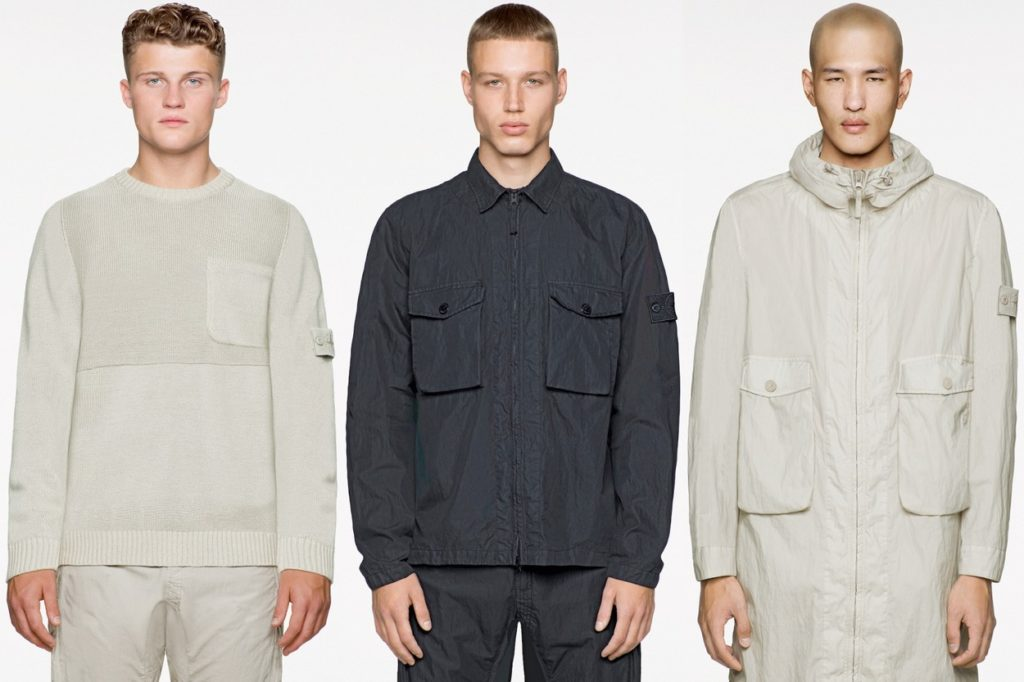 "Collection Stone Island ""Ghost"" Printemps/Été 2019"