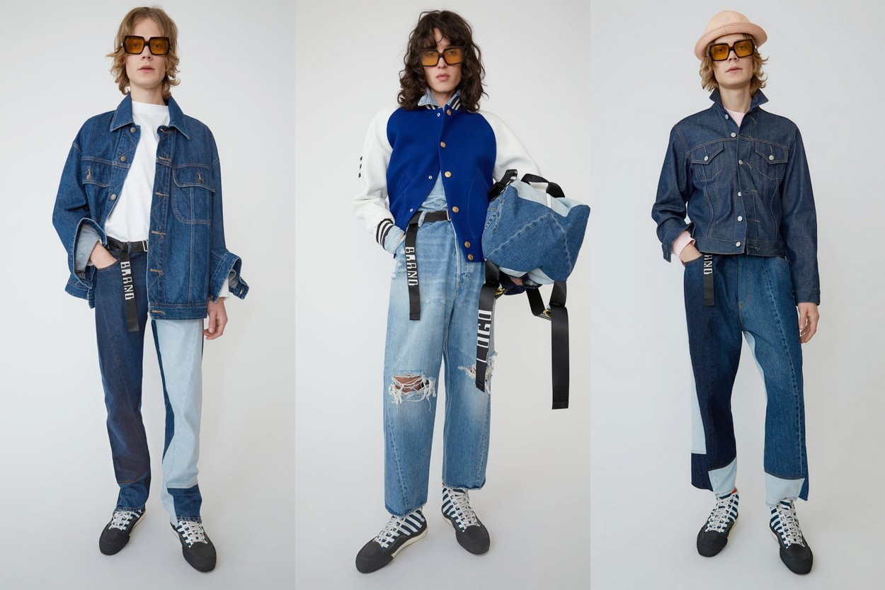 Collection denim Acne Studios Printemps/Été 2019