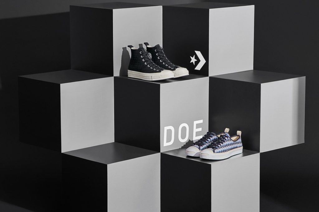 "Converse et DOE dévoilent la collection ""Be Formless"""