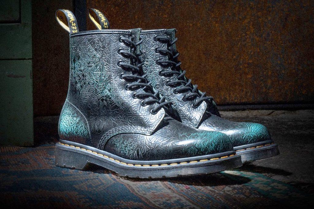 Dr. Martens célèbre la Saint-Patrick avec une paire de boots 1460