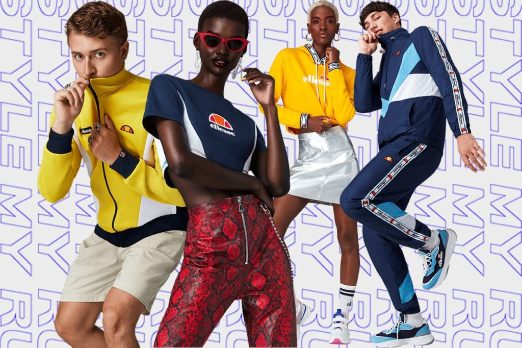"Campagne Ellesse ""My Style, My Rules"" Printemps/Été 2019"