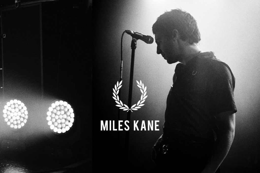 Collection Fred Perry x Miles Kane Printemps/Été 2019