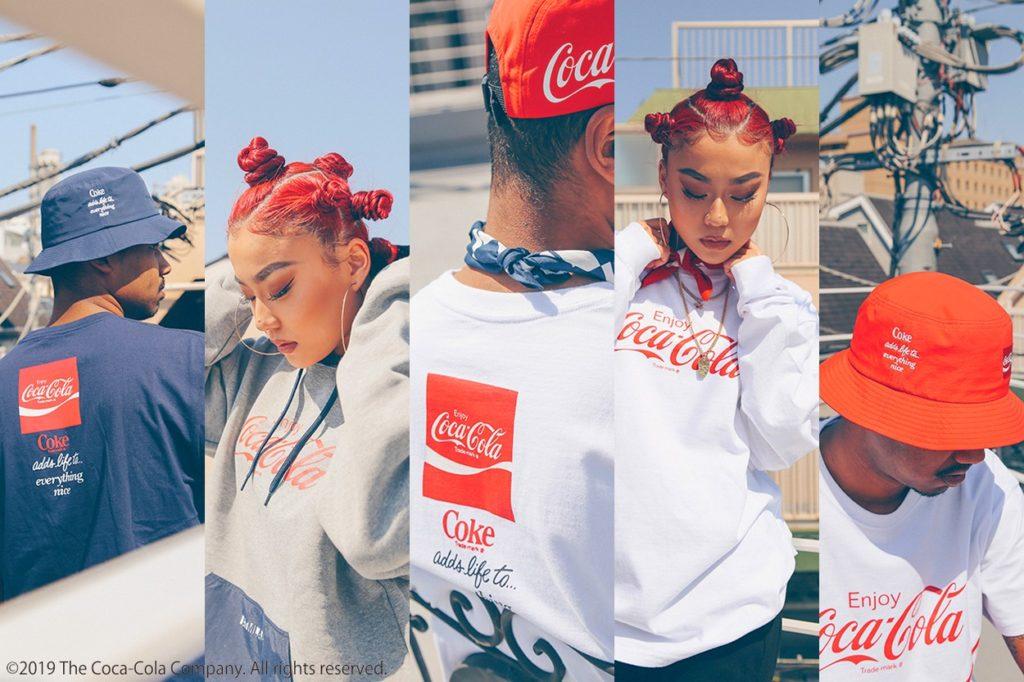 Collection capsule Coca-Cola x atmos LAB