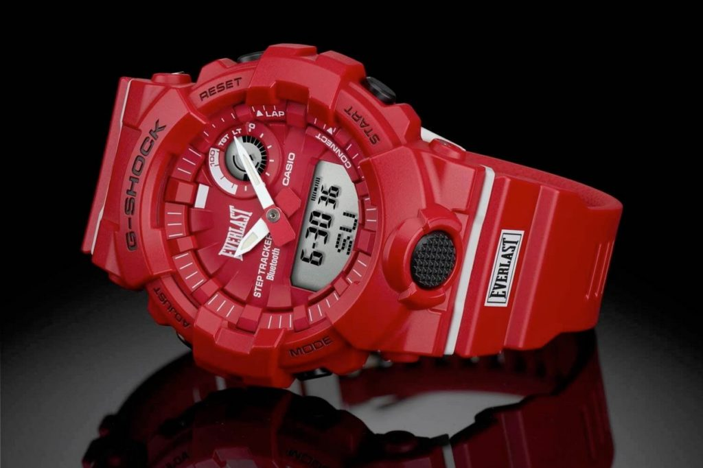Montre Everlast x G-Shock GBA-800EL-4A