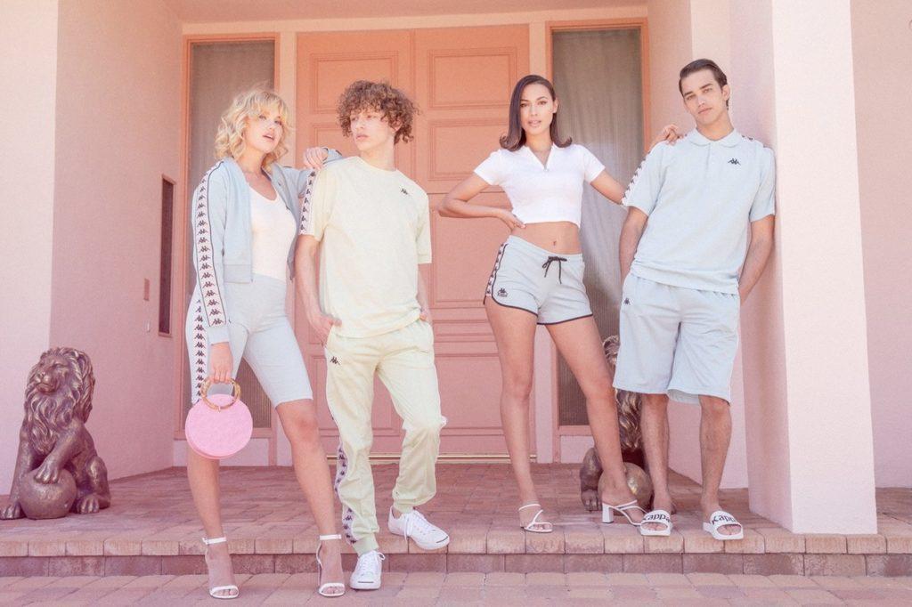 Kappa Authentic se lance dans le pastel avec sa campagne Été 2019