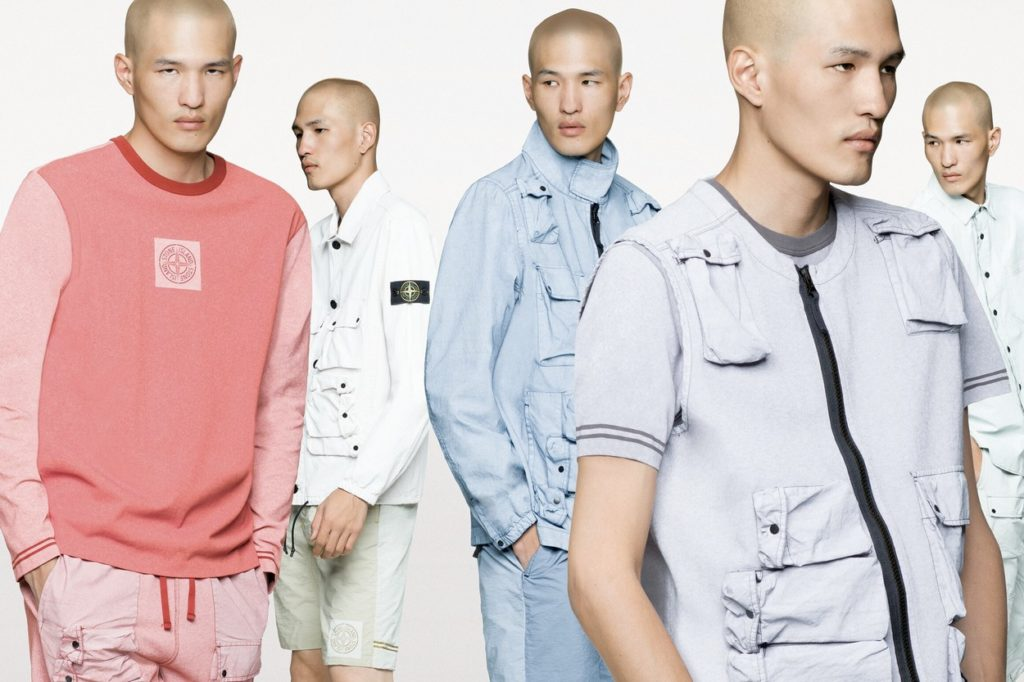 "Collection ""Placcato"" Printemps/Été 2019 de Stone Island"