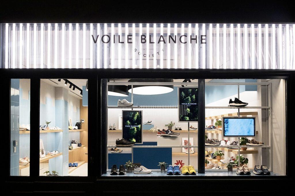 Voile Blanche ouvre sa première boutique parisienne