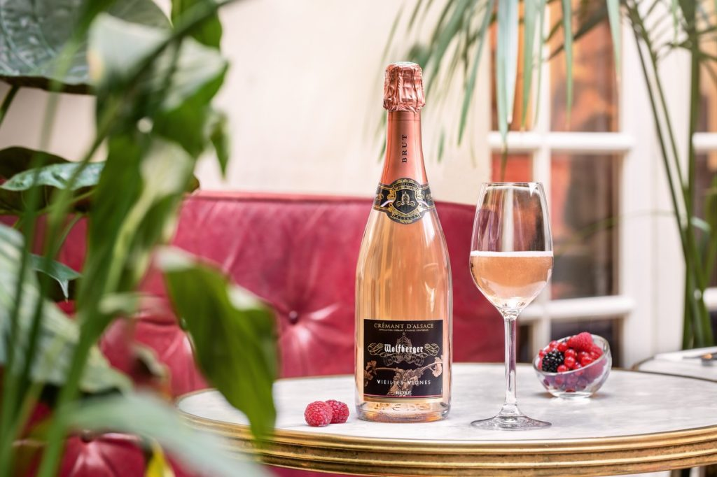 Wolfberger Crémant d'Alsace Rosé Vieilles Vignes