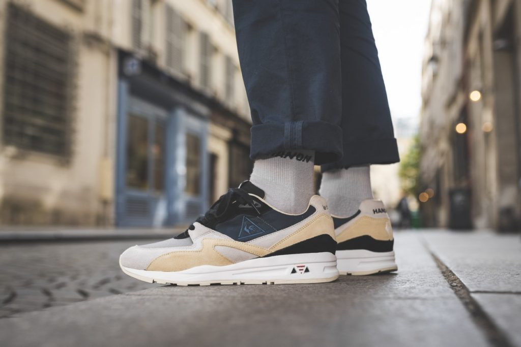 "Hanon x le coq sportif R800 ""The Good Agreement"" Made in France"