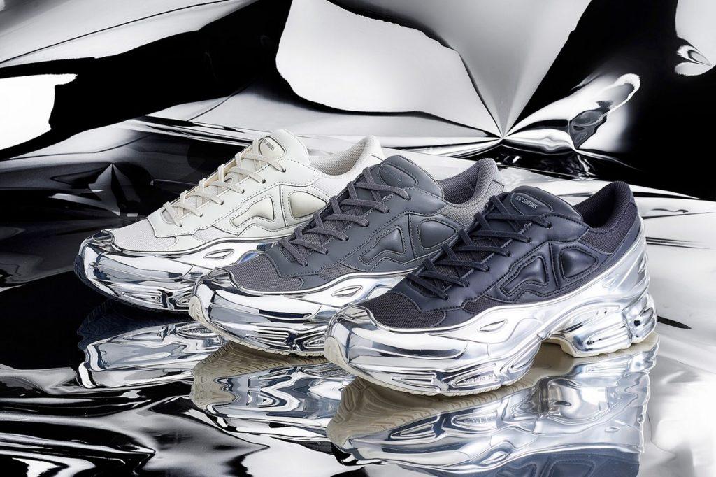 adidas by Raf Simons RS Ozweego chromés pour le Printemps/Été 2019