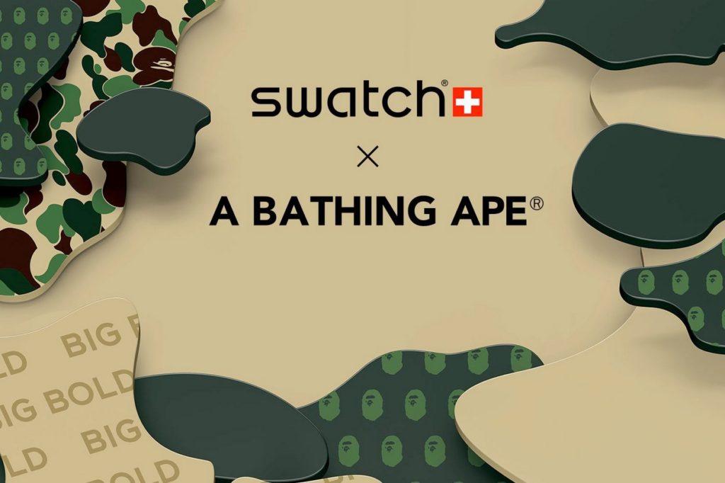 BAPE x Swatch