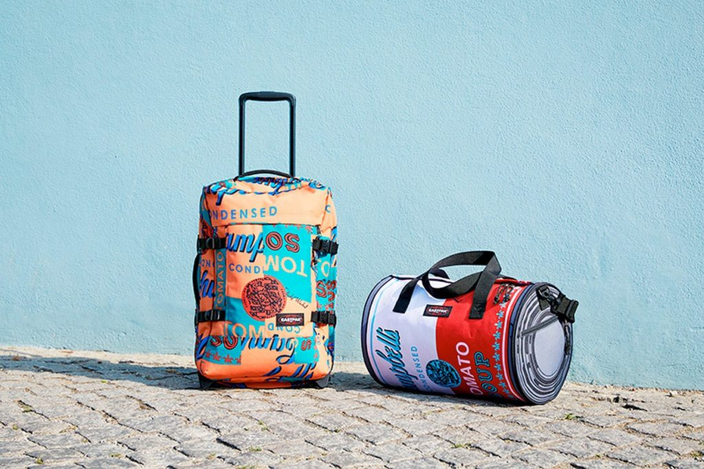 Nouvelle collection Eastpak x Andy Warhol