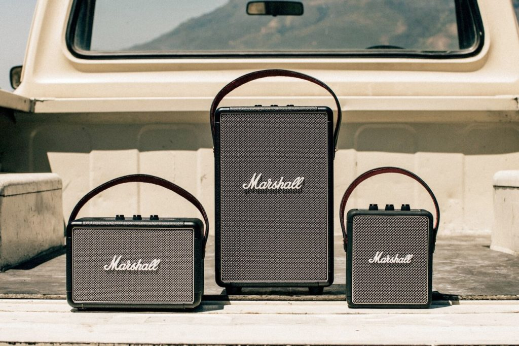 Marshall présente ses enceintes nomades Hit The Road