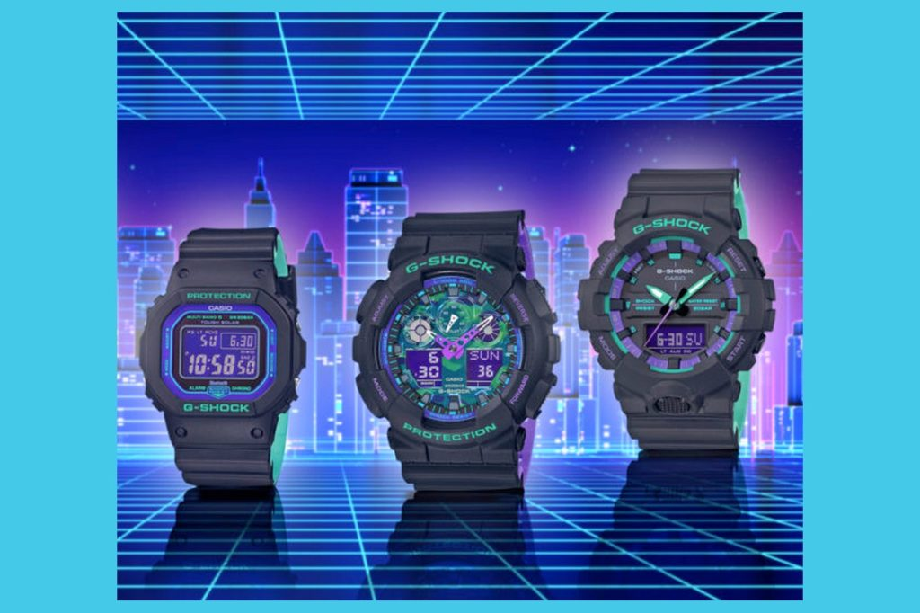 "Collection G-Shock ""90's Retro Sports"""