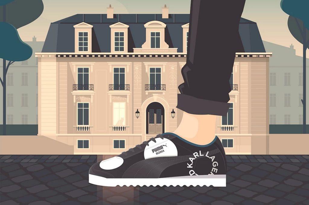 Karl Lagerfeld x PUMA Roma
