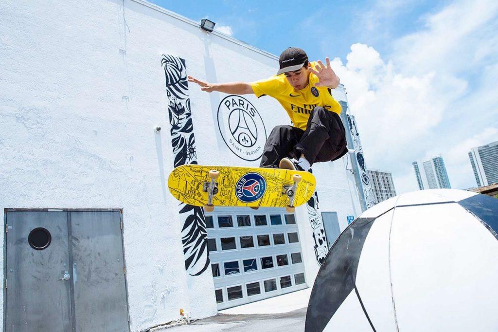 Decks de skate édition limitée Paris Saint-Germain x Andrew