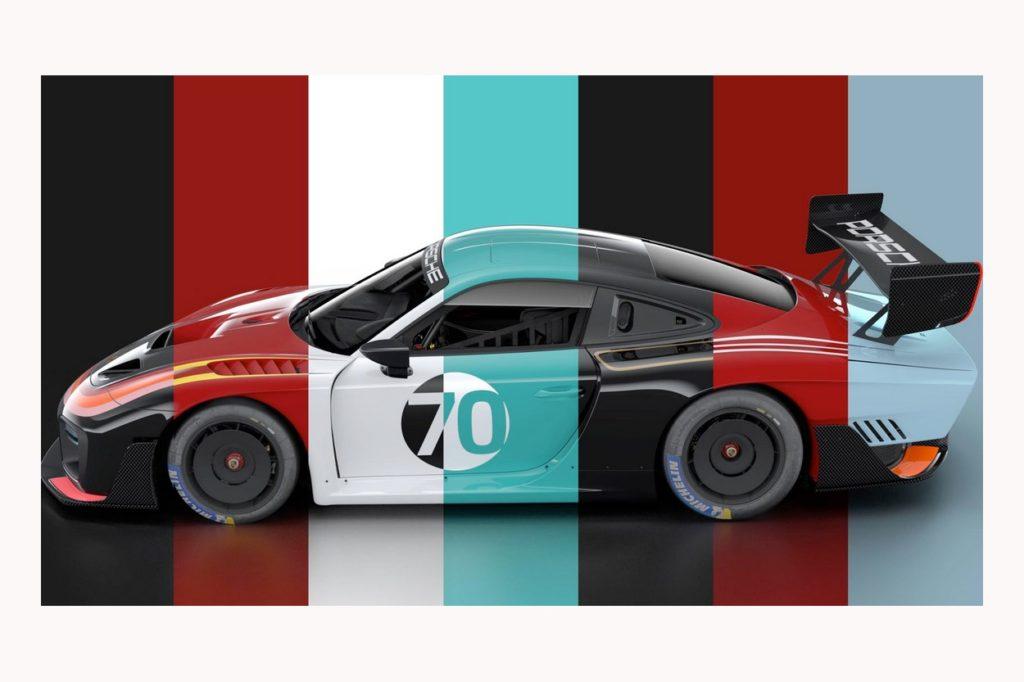 Porsche célèbre son héritage en compétition avec sept version de la 935