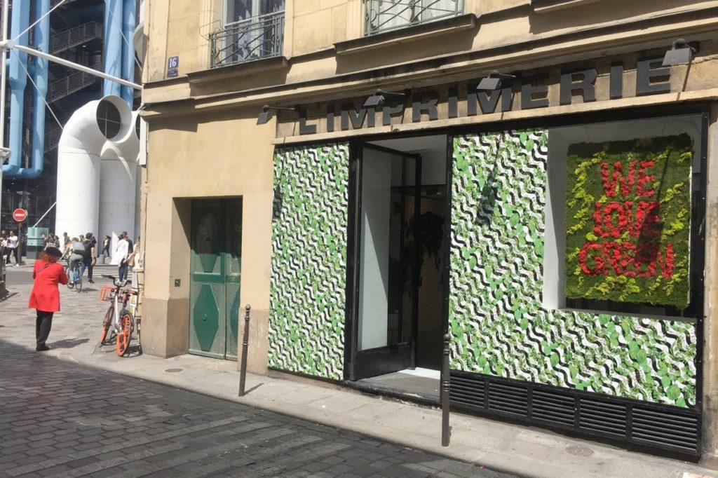 Pop-up Store WE LOVE GREEN à L'Imprimerie