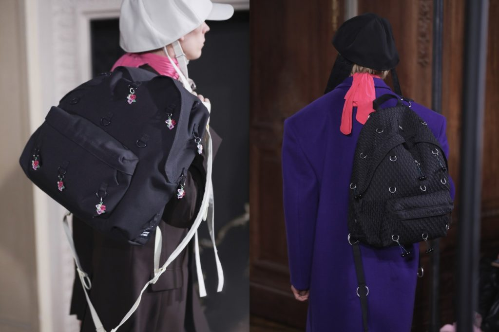 Collection Raf Simons x Eastpak Automne/Hiver 2019-2020