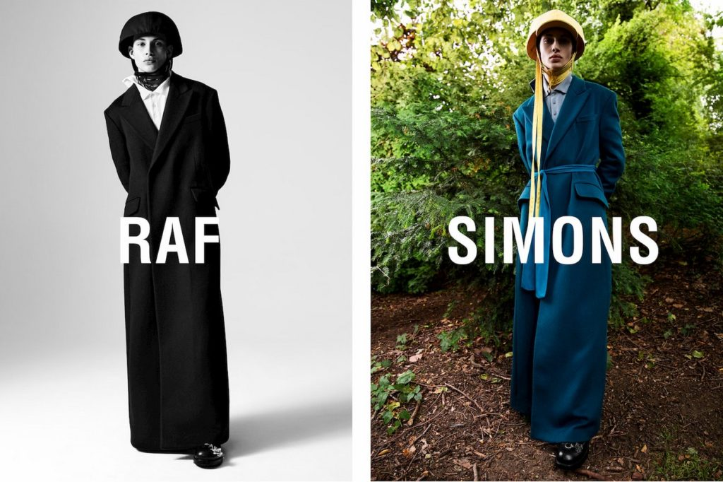 Campagne Raf Simons Automne/Hiver 2019