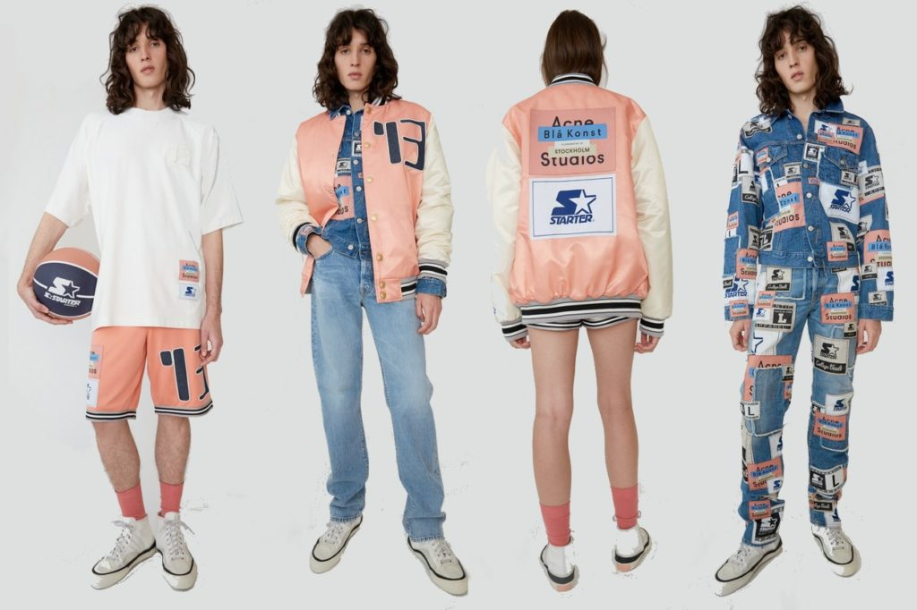 Collection capsule Starter Black Label x Acne Studios