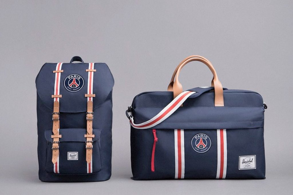 Collection Herschel Supply x Paris Saint-Germain