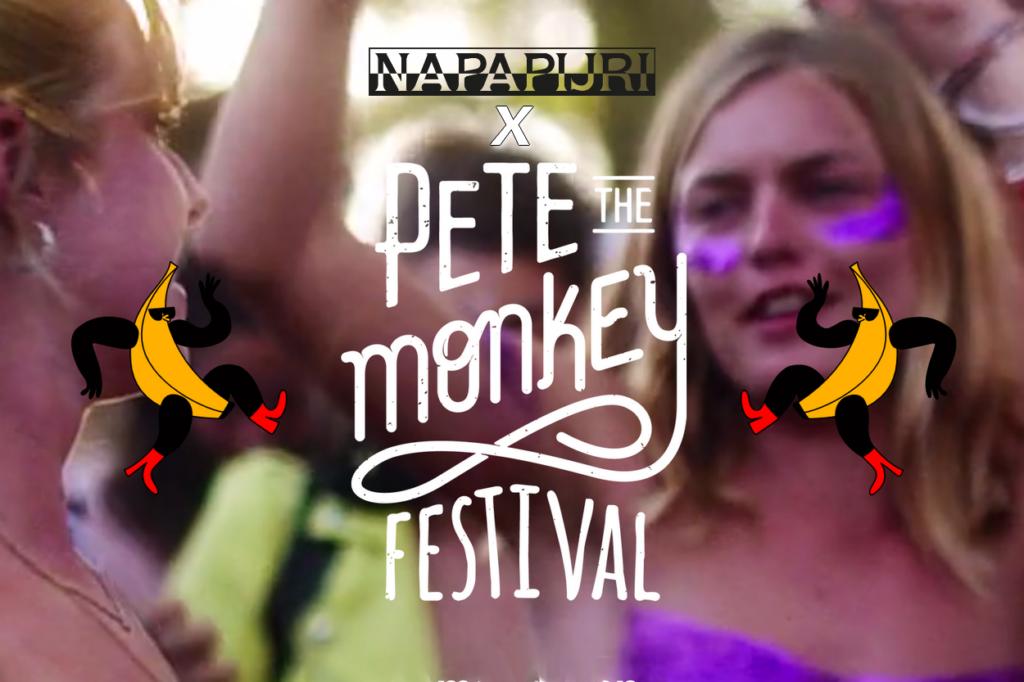 Napapijri partenaire du festival Pete the Monkey