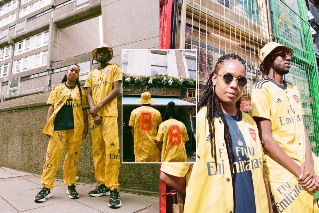 """Arsenal x adidas """"Bruised Banana"""" Notting Hill Carnival"""