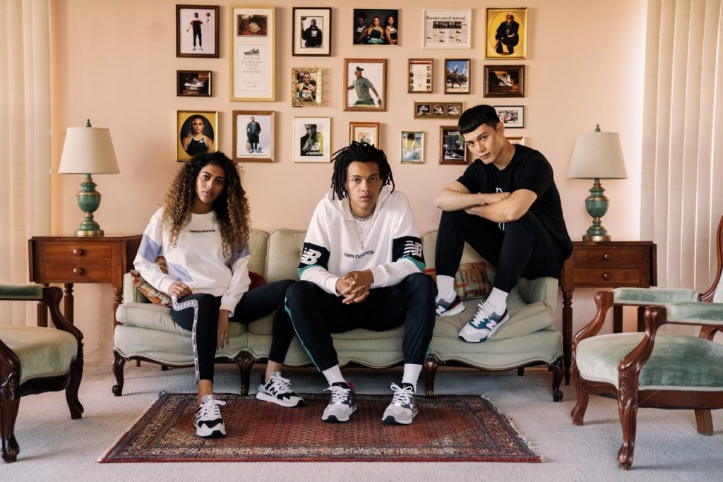 "Campagne New Balance ""Runs in the Family"""