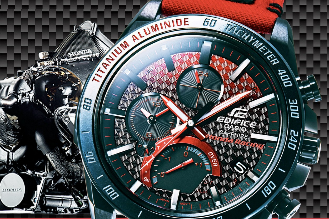 Nouvelle collaboration CASIO Edifice x Honda Racing | Viacomit  Gzyky