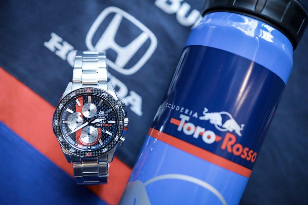"CASIO Edifice collabore avec l'équipe de F1 ""Scuderia Toro Rosso"" sur de nouvelles montres"