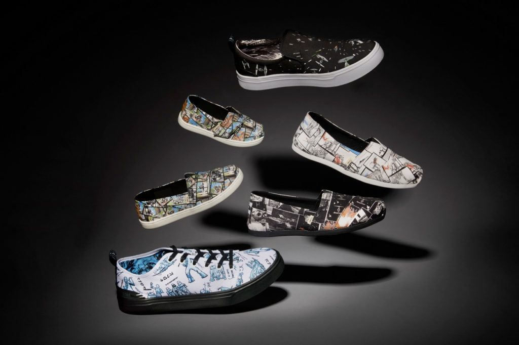 Collection Star Wars x TOMS