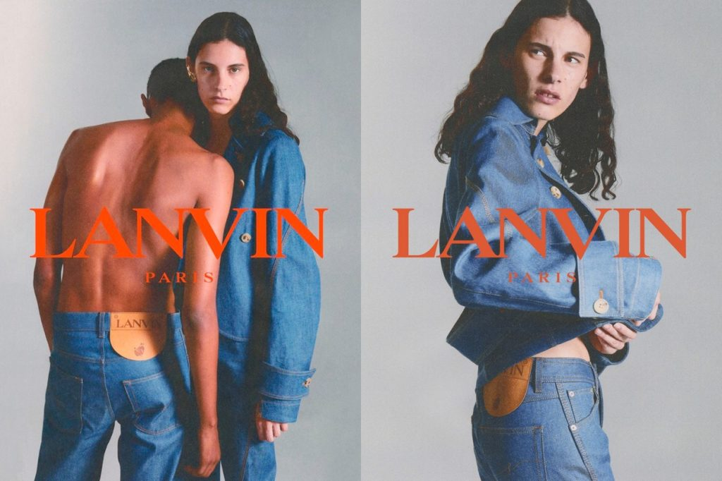 Campagne Lanvin Denim Automne/Hiver 2019