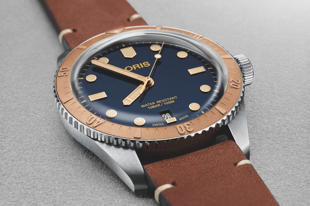 Montre Oris Divers Sixty-Five Bicolore