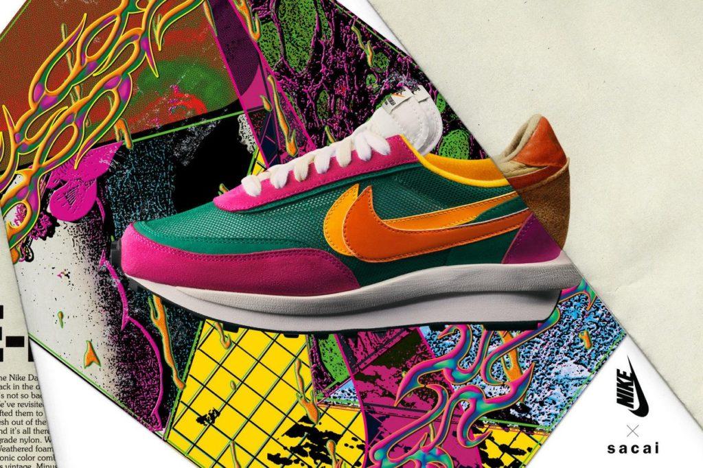 Nouvelle collection sneakers et vêtements Nike x Sacai