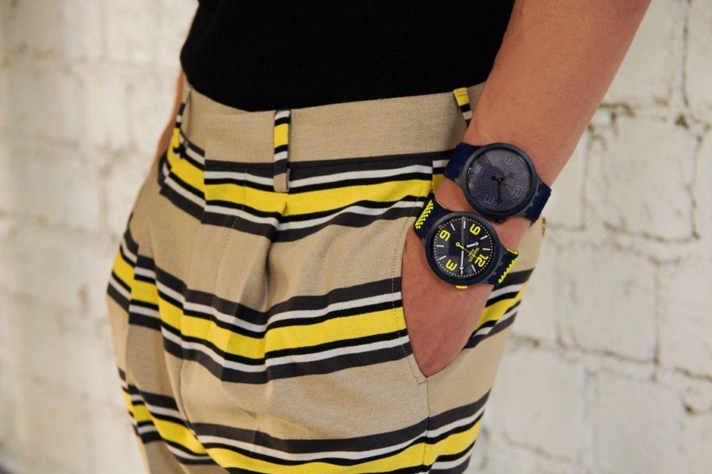 Swatch lance de nouveau coloris de sa montre BIG BOLD