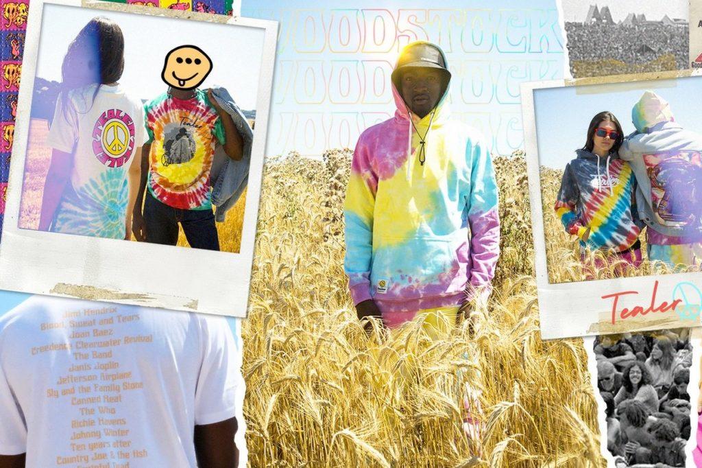"Tealer rend hommage au festival ""Woodstock"" dans sa nouvelle collection"