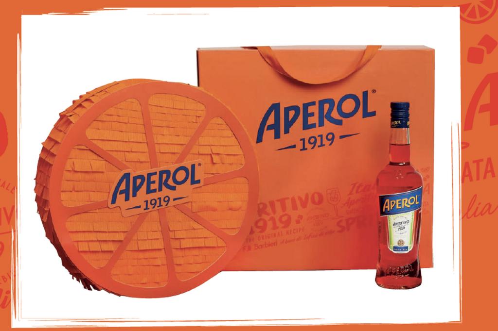 Aperol dévoile un coffret collector spécial 100 ans