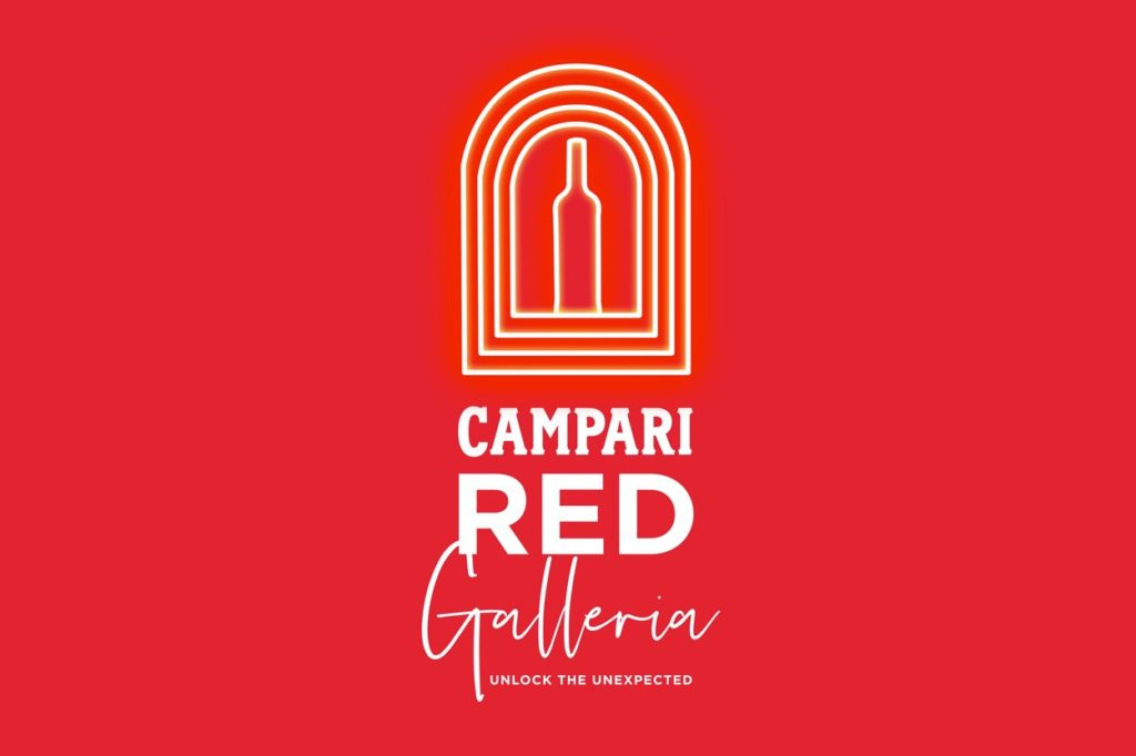 "Campari Red Galleria ""Unlock the Unexpected"""