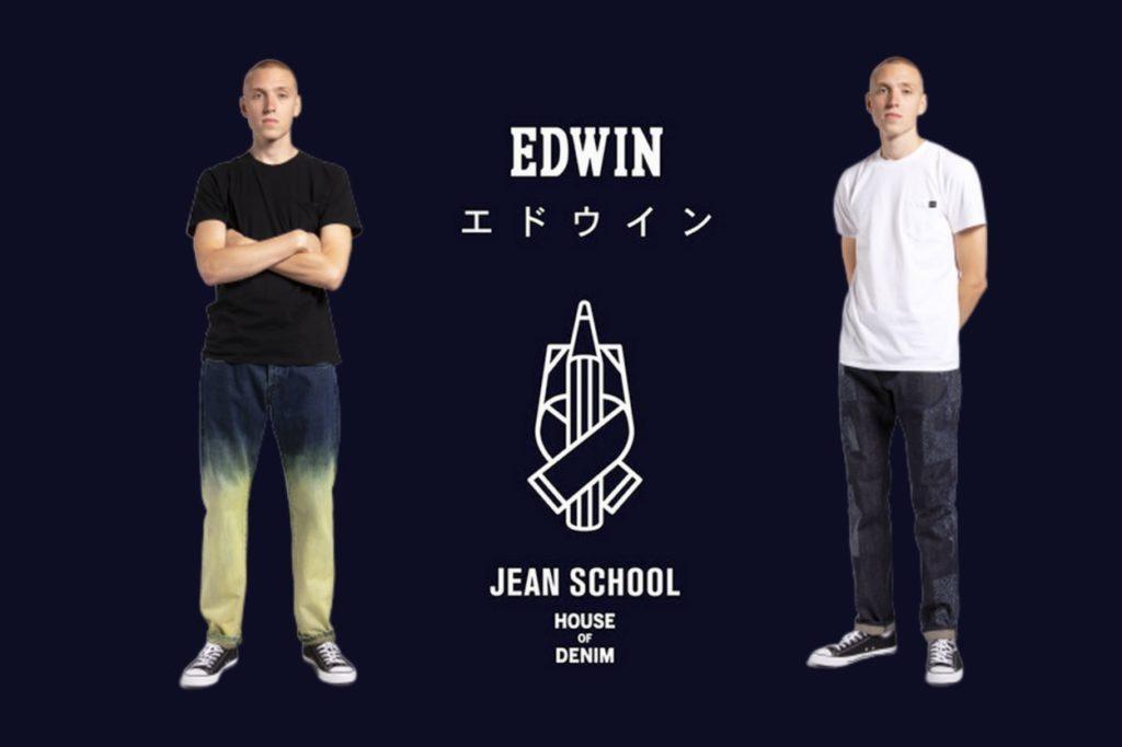 """Edwin x """"Jean School"""" of Amsterdam"""