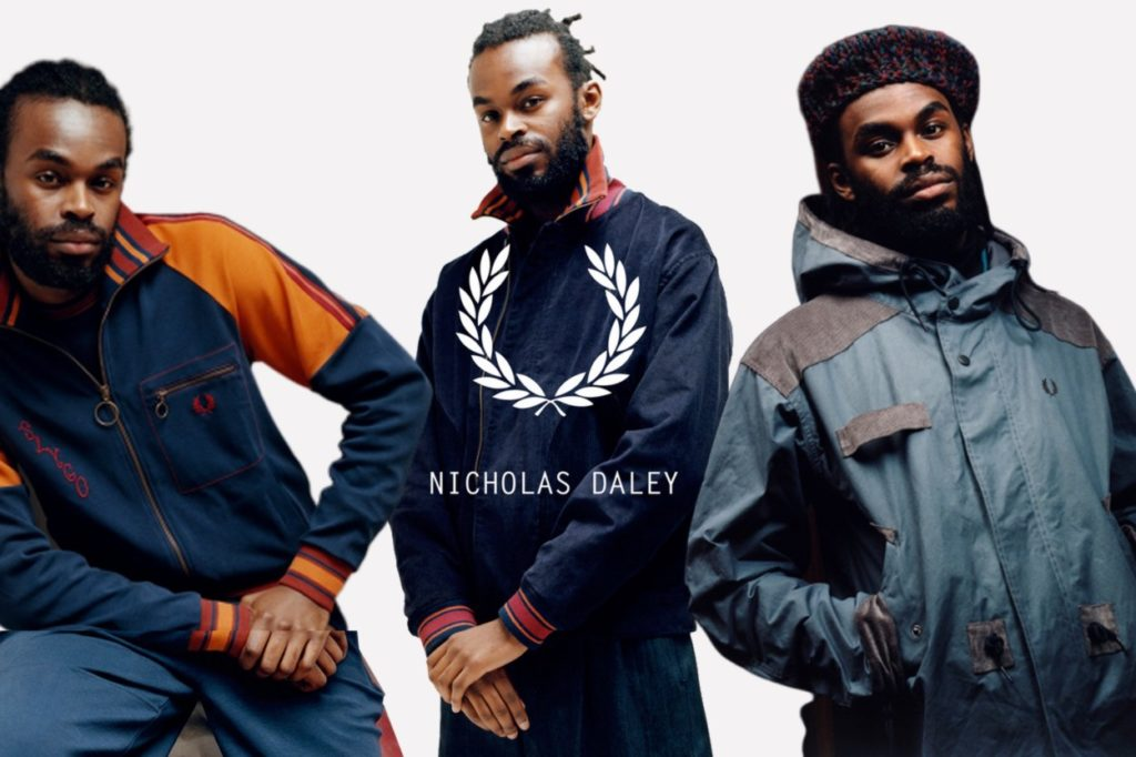 Collection capsule Fred Perry x Nicholas Daley Automne/Hiver 2019