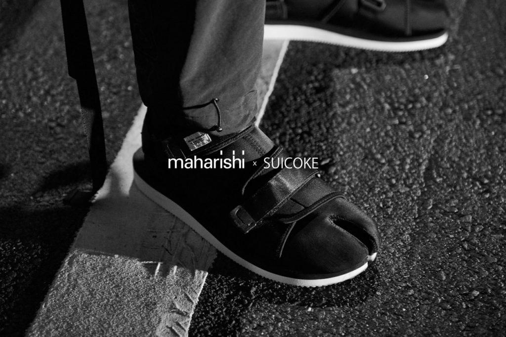maharishi & Suicoke dévoilent une sandale et une boot Tabi ultra-fonctionnelles