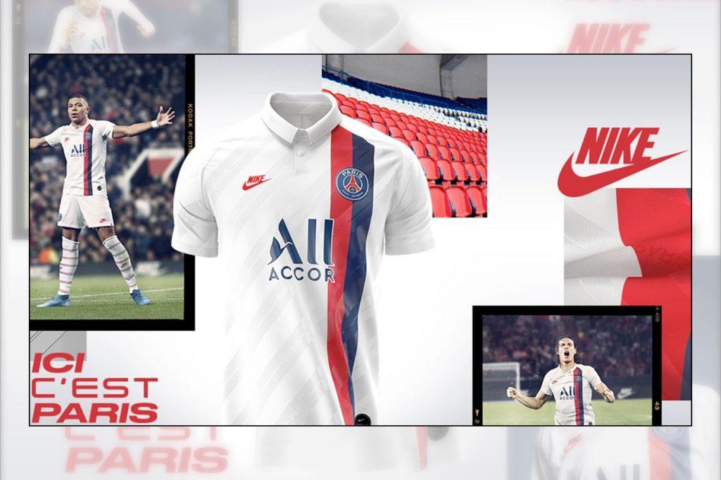 PSG x Nike 3ème kit